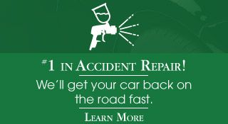 #1 in accident repair! | Learn more